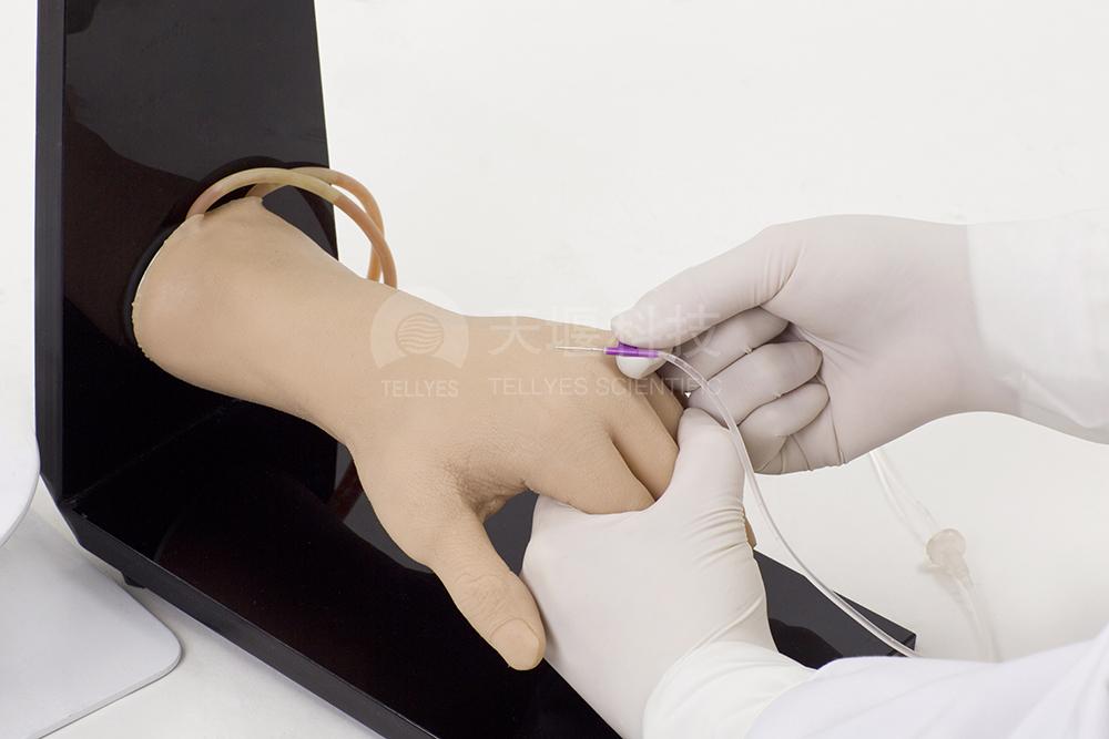 标准静脉输液手部
